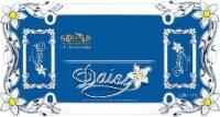 Cruiser Accessories Daisy License Plate Frame - Chrome