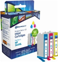 Dataproducts Remanufactured Ink Cartridges for HP 564XL - Cyan/Magenta/Yellow