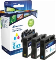 Dataproducts Remanufactured Ink Cartridges for HP 933 - Cyan/Magenta/Yellow