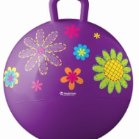 Hedstrom 55-5304-1P 18 in. Flowers Hopper Outdoor Play, Purple