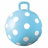 Hedstrom Entertainment 55-1460BLU-1P 15 in. Polka Dot Blue Hopper