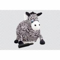 Hedstrom 55-9606-1P 18 in. Zebra Plush Hopper Ball