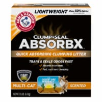 Arm & Hammer™ Clump & Seal AbsorbX Multi-Cat Litter