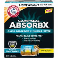 Arm & Hammer™ Clump & Seal AbsorbX Multi-Cat Unscented Litter