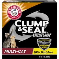 Arm & Hammer Clump & Seal Multi Cat Complete Odor Sealing Litter - 14 lb
