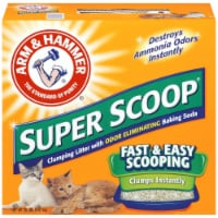 Arm & Hammer Super Scoop Clumping Cat Litter