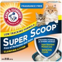 Arm & Hammer Super Scoop Fragrance Free Clumping Cat Litter