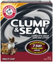 Arm & Hammer Clump & Seal Multi-Cat Complete Odor Sealing Cat Litter