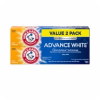 Arm & Hammer Advance White Extreme Whitening Clean Mint Toothpaste Twin Pack