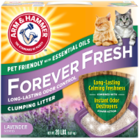 Arm & Hammer Forever Fresh Lavender Scented Clumping Litter - 20 lb