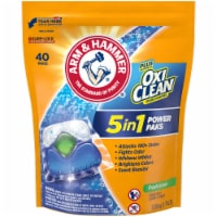 Arm & Hammer Plus OxiClean 5-in-1 Power Paks Fresh Scent Concentrated Laundry Detergent