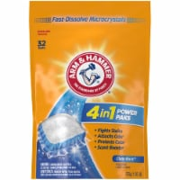Arm & Hammer 4-in-1 Clean Burst Scent Concentrated Laundry Detergent Power Paks - 32 ct
