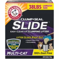Church & Dwight LL97428 Arm & Hammer SLIDE Easy Clean-Up Litter Multi-Cat -38 lbs