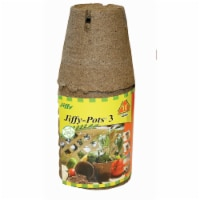 Jiffy 3 In. W. Round Peat Pot (10-Pack) JP310 - 3 In. W.