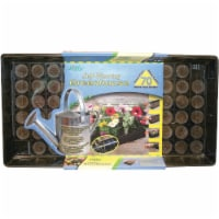 Jiffy 70-Cell Self-Watering Greenhouse Seed Starter Kit T70H - 1