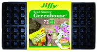 Jiffy 72 Cell & Markers Easy Grow Greenhouse