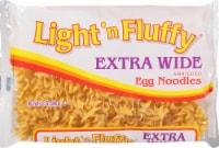 Light 'n Fluffy Extra Wide Enriched Egg Noodles - 12 oz