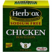 Herb-Ox Sodium Free Chicken Flavor Granulated Bouillon Packets