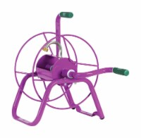 Yard Butler 75 ft. Free Standing Purple Hose Reel - Case Of: 1; - Count of: 1