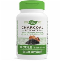 Nature's Way Activated Charcoal Capsules - 100 ct