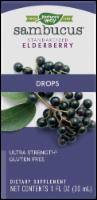 Nature's Way Sambucus Ultra-Strength Elderberry Drops
