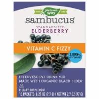 Nature's Way Sambucus Fizzy Elderberry Dietary Supplement Drink Mix Packets