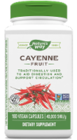 Nature's Way Cayenne Supplement Capsules