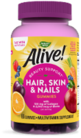 Nature's Way  Alive!® Hair Skin & Nails Gummies   Strawberry