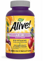 Nature's Way Alive! Women's 50+ Gummy Vitamins