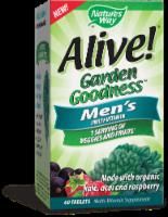 Nature's Way Alive! Garden Goodness Men's Multi-Vitamin Tablets - 60 ct