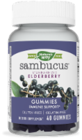 Nature's Way Sambucus Standardized Elderberry Immune Support Gummies