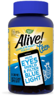 Nature's Way Alive! Teen Blue Light Multivitamin for Him Gummies - 50 ct
