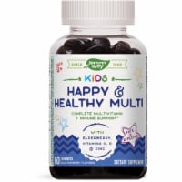 Nature's Way Kids Happy & Healthy Multivitamin Gummies - 60 ct