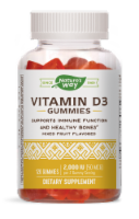 Nature's Way Mixed Fruit Flavored Vitamin D3 Gummies 2000IU