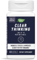 Nature's Way Clear Thinking Dietary Supplement - 40 ct
