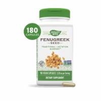 Nature's Way Fenugreek Seed Capsules 610 mg - 180 ct