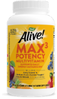 Nature's Way Alive! Multivitamin Max Potency Tablets