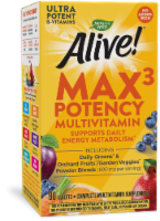 Nature's Way Alive! Multivitamin Max Potency Tablets - 90 ct