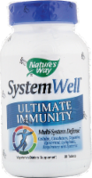 Nature's Way System Well Ultimate Immunity Supplement Tablets