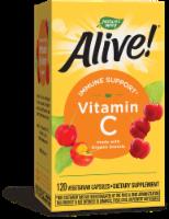 Nature's Way Alive! Fruit Source Vitamin C Vegetarian Capsules - 120 ct
