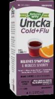 Nature's Way Umcka Cold + Flu Sugar Free Orange Flavor Syrup