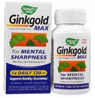 Nature's Way Ginkgold® Max Tablets 120mg