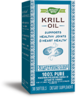 Nature's Way Krill Oil Bioavailable Omega-3 Capsules - 30 ct