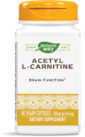 Nature's Way Acetyl L-Carnitine 500 mg Vcaps