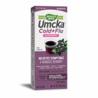 Nature's Way Umcka Elderberry Intensive Cold & Flu Soothing Syrup