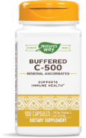 Nature's Way® Buffered C-500 Mineral Ascorbate Capsules - 100 ct