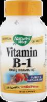 Nature's Way Vitamin B1 Capsules 100mg - 100 ct