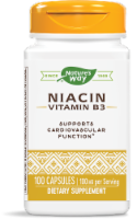 Nature's Way Niacin 100 Mg Capsules
