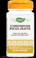 Nature's Way Chromium Picolinate Capsules 200 mcg - 100 ct