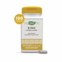 Nature's Way Zinc Chelate Dietary Supplement Capsules 30mg - 100 ct